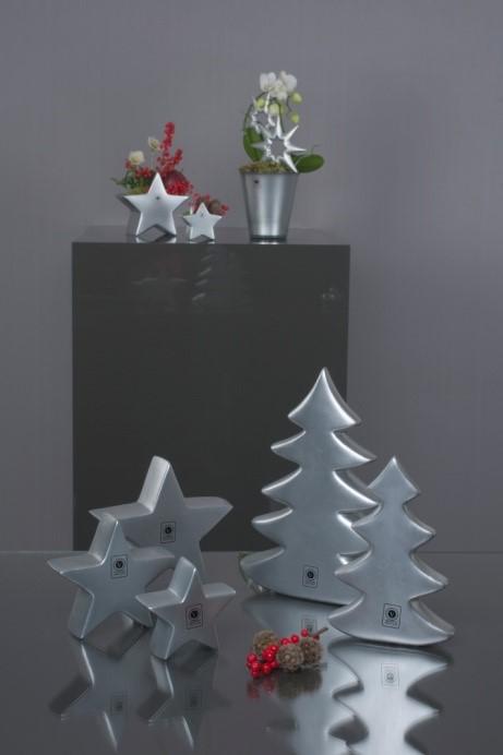 Zweige in Silber für eine winterliche Deko
